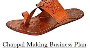 Chappal Slipper Making Plan Investment Profit