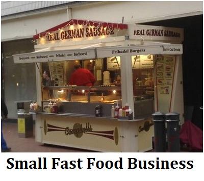 Small Fast Food Business Idea Profit Cost