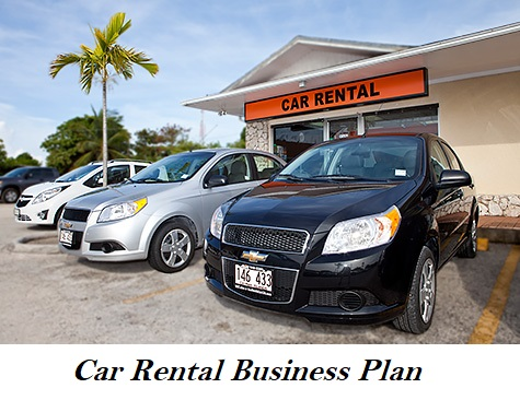 Car Rental Business Plan Cost Profit